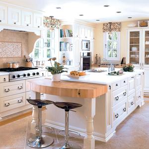 Armoire de cuisine montreal laval rive nord cuisiniste for Decoration de cuisine champetre
